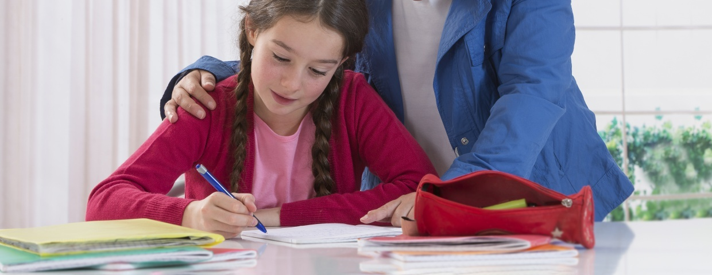 homeschool student and parent