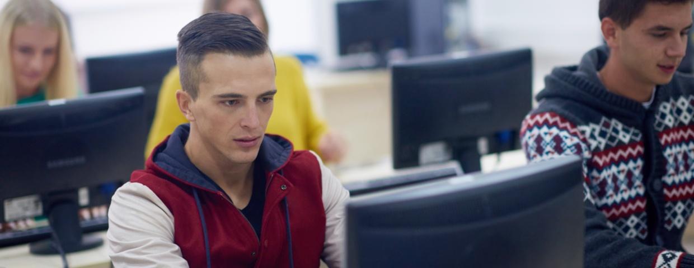 Idaho students learning online